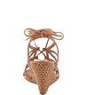 Anabela Lace-up Camel