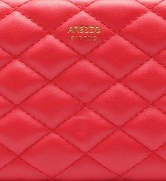 Carteira Média Envelope Matelassê Royal Red