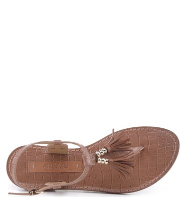 Rasteira Mini Croco Blush