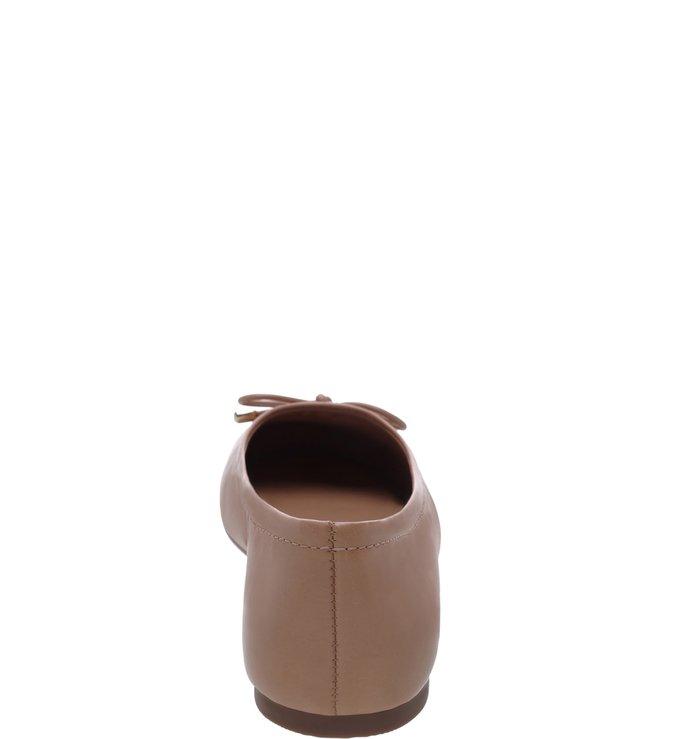 Sapatilha Couro Light Cream
