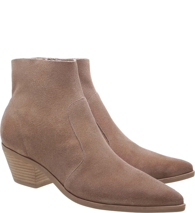 Ankle Boot Camurcina West Taupe Beige