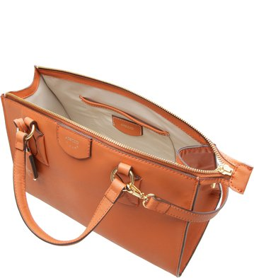 Bolsa Tote Firenze Orange Ocre