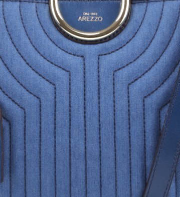 Satchel Felice Matelassê Jeans Italia