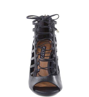 Sandália Amarrações Preta