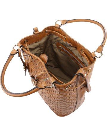 Bucket Lucy Marrom