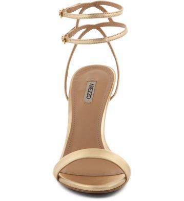 Sandália Minimal Ouro Claro