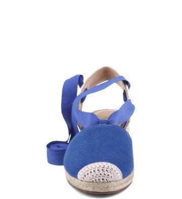 Espadrille Camurça Azul