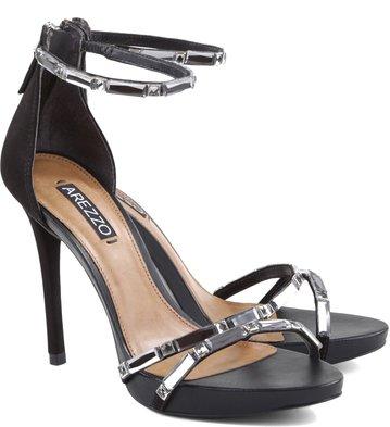 Sandália Glam Details Preta