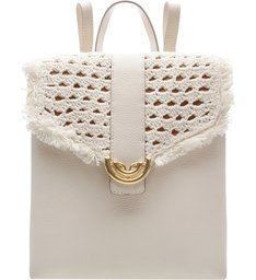 Mochila Piccolina Off White Cru