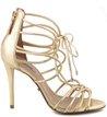 Sandália Amarrações Ouro