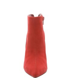Ankle Boot Nobuck Salto Fino Rubi