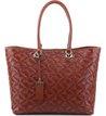 Bolsa Shopping Beatrice Marrom