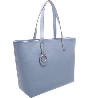 Bolsa Shopping Per Tutti Crystal Blue