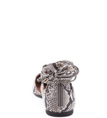 Sapatilha Lace-up Snake