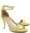 Sandália Isabelli Média Nobuck Vibrant-Yellow