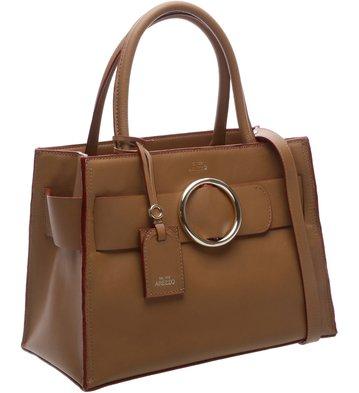 Bolsa Shopping Allegra Tan