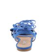 Rasteira Lace Up Flor Amor