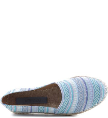 Espadrille Ethnic Pop Acqua