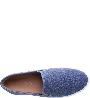 Slip-on Matelassê Pelle Azul