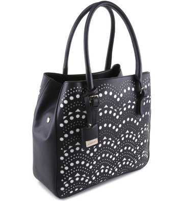Bolsa Shopping Riley Preta