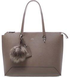 Bolsa Shopping Couro Lírio Grande New Fox