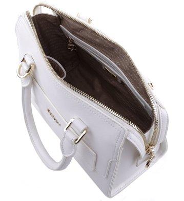 Bolsa Bowling Textura Branca