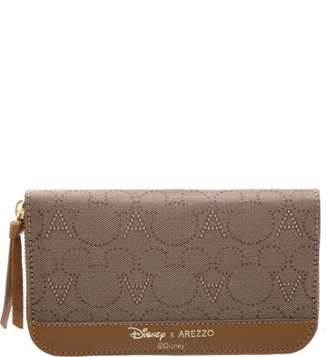 Disney x Arezzo | Carteira Jacquard Scoth