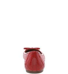 Sapatilha Verniz Matelassê Lust Red